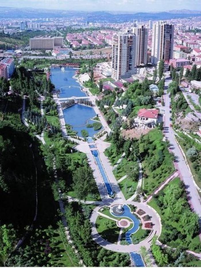 Dikmen Vadisi, a tour attraction in Ankara Türkiye