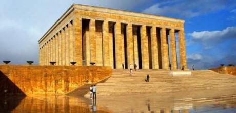 Anıtkabir, a tour attraction in Ankara Türkiye