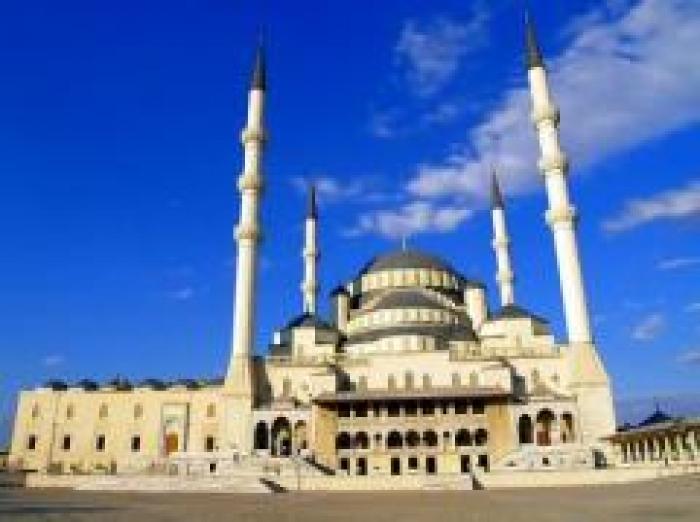 Kocatepe Camii, a tour attraction in Ankara Türkiye