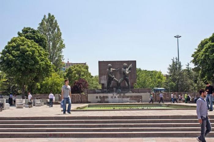 Güvenpark, a tour attraction in Ankara Türkiye