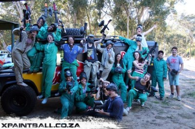 Paintball and LaserTag, a tour attraction in Cape Town, Western Cape, South