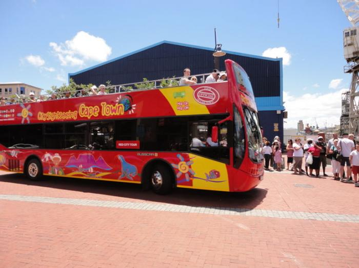 See the city with the Hop On, Hop Off Bus, a tour attraction in Cape Town, Western Cape, South