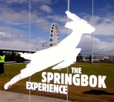 The Springbok Experience Rugby Museum, a tour attraction in Cape Town, Western Cape, South