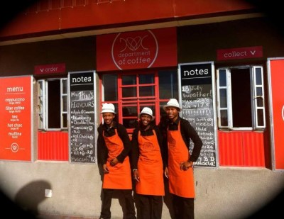 Department of Coffee, a tour attraction in Cape Town, Western Cape, South