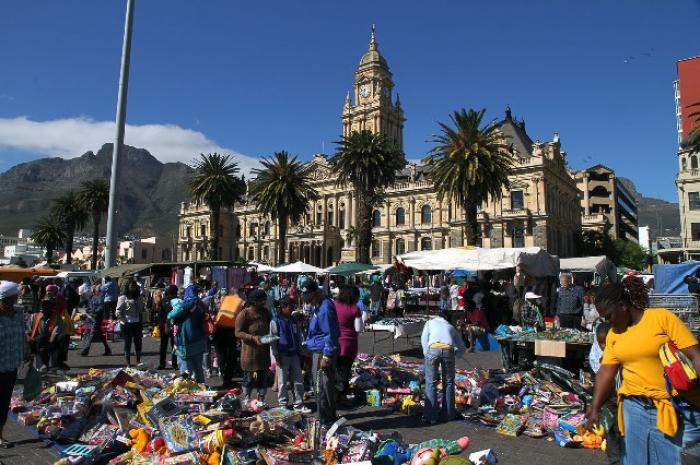 Grand Parade Market, a tour attraction in Cape Town, Western Cape, South