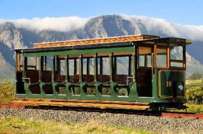 Franschhoek Wine Tram, a tour attraction in Cape Town, Western Cape, South