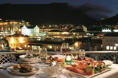 Baia Restaurant, a tour attraction in Cape Town, Western Cape, South