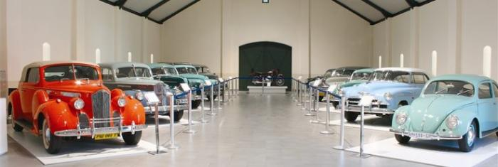 Franschoek Motor Museum, a tour attraction in Cape Town, Western Cape, South