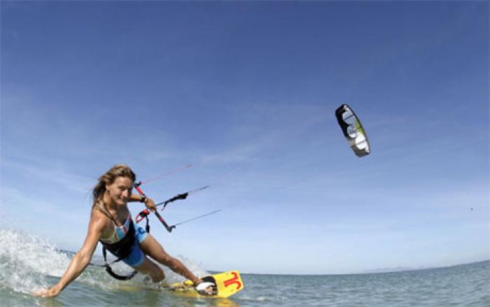 Kite Boarding, a tour attraction in Cape Town, Western Cape, South