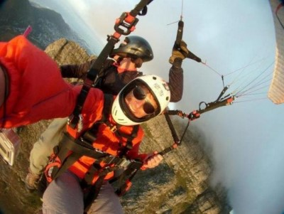 Paragliding in Cape Town, a tour attraction in Cape Town, Western Cape, South