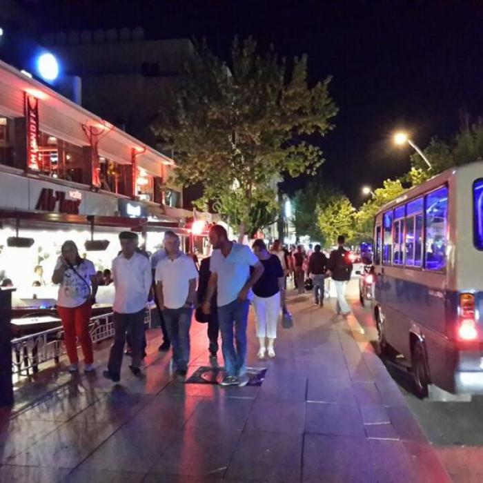 7. Cadde, a tour attraction in Ankara Türkiye