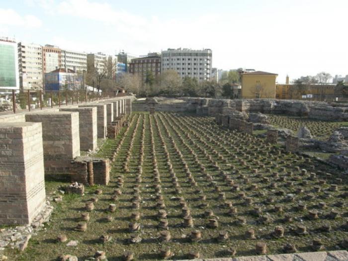 Roma Hamamı Açık Hava Müzesi, a tour attraction in Ankara Türkiye