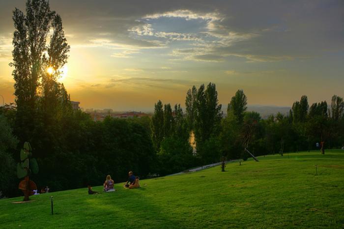 Seğmenler Parkı, a tour attraction in Ankara Türkiye
