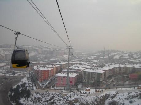 Keçiören Teleferik, a tour attraction in Ankara Türkiye