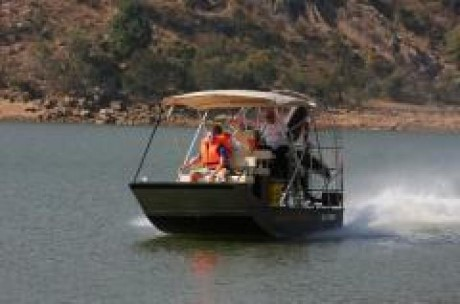 Airboat Afrika, a tour attraction in Johannesburg, Gauteng, South A