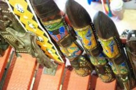 African Craft Market, a tour attraction in Johannesburg, Gauteng, South A