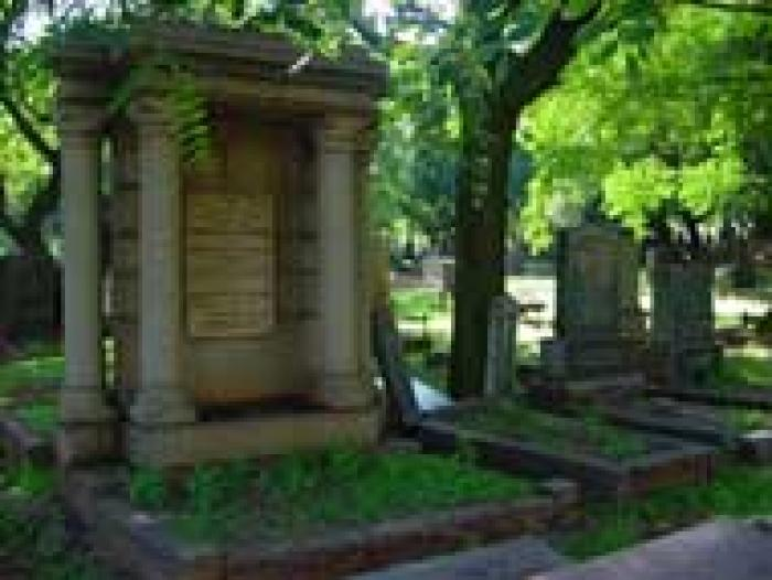 Brixton Cemetry, a tour attraction in