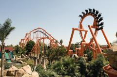 Gold Reef City, a tour attraction in Midrand iNingizimu Afrika
