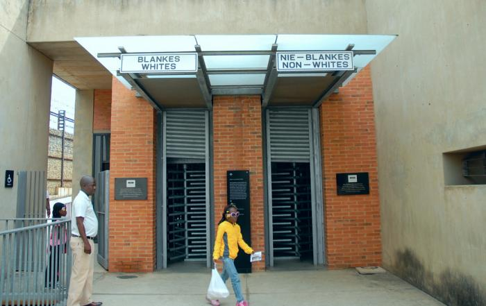 Hector Pieterson Museum, a tour attraction in Soweto iNingizimu Afrika