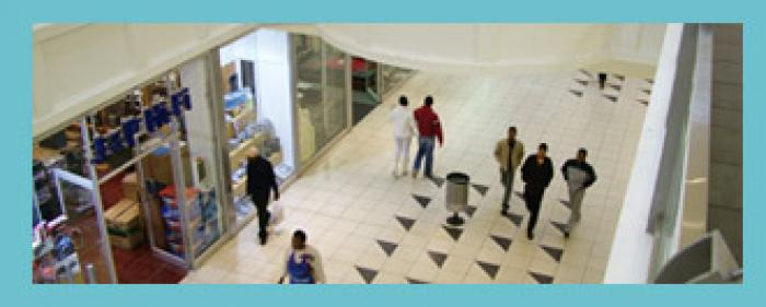 Southgate Mall, a tour attraction in Soweto iNingizimu Afrika