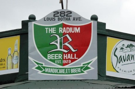 The Radium Beer Hall, a tour attraction in Johannesburg, Gauteng, South A