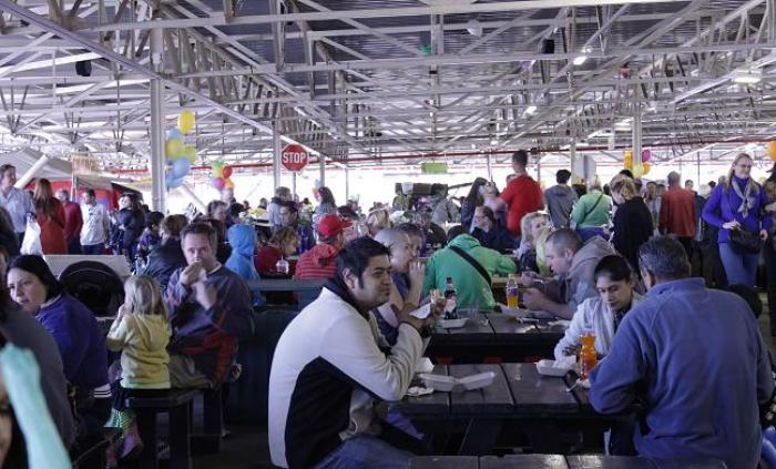 Norwood Rooftop Market, a tour attraction in Johannesburg, Gauteng, South A