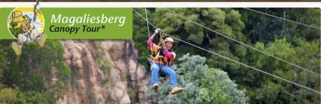 Magaliesberg Canopy Tour, a tour attraction in Johannesburg, Gauteng, South A