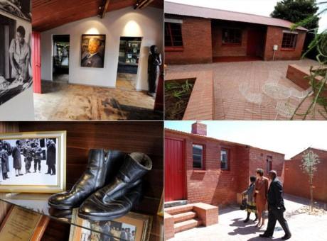 Mandela House, a tour attraction in Johannesburg, Gauteng, South A