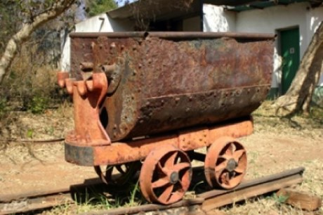 Old Kromdraai Goldmine, a tour attraction in Johannesburg, Gauteng, South A