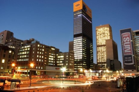 Gandhi Square, a tour attraction in Johannesburg, Gauteng, South A