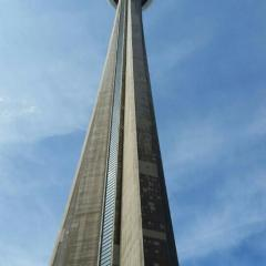 CN Tower, a tour attraction in Toronto Canada