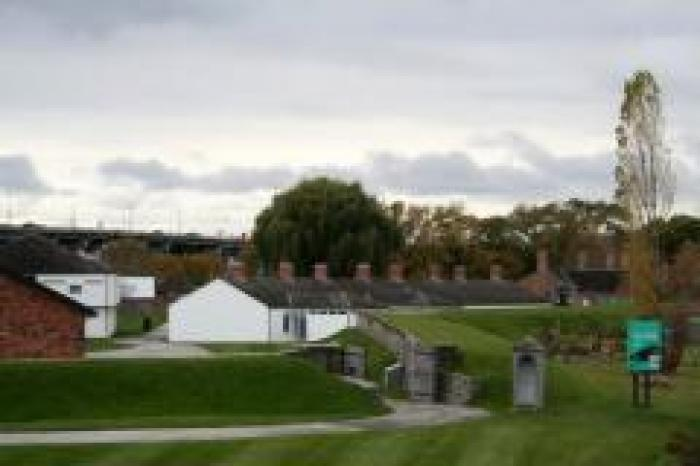 Fort york, a tour attraction in
