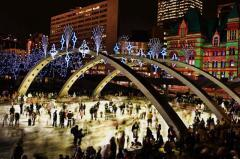 Nathan Phillips Square, a tour attraction in