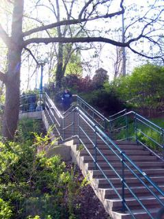 Baldwin Steps, a tour attraction in