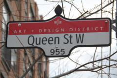 Queen west, a tour attraction in