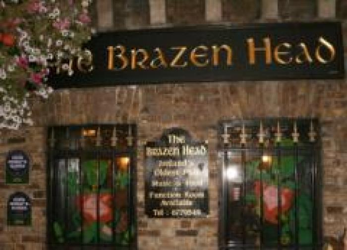 Brazen Head Pub, a tour attraction in