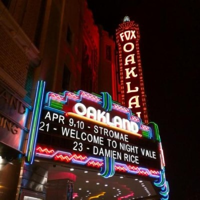 Fox Theater, a tour attraction in Oakland United States