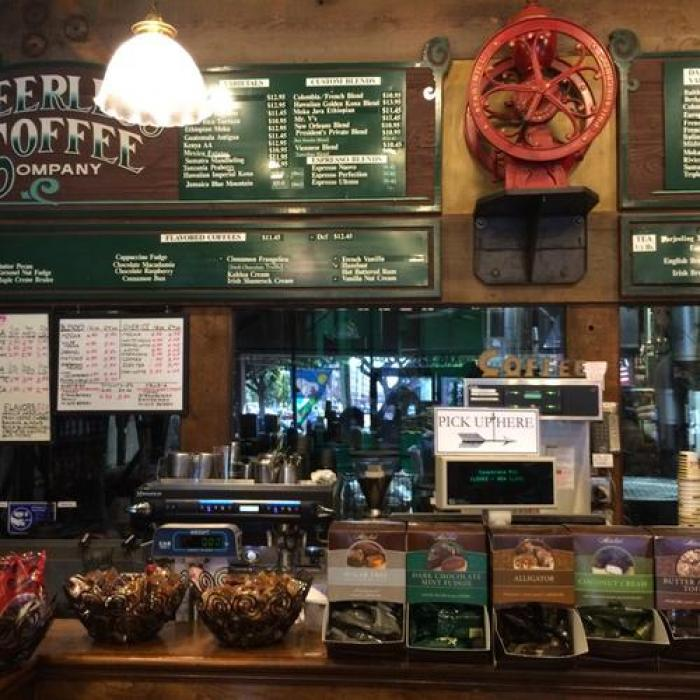 Peerless Coffee & Tea, a tour attraction in Oakland United States