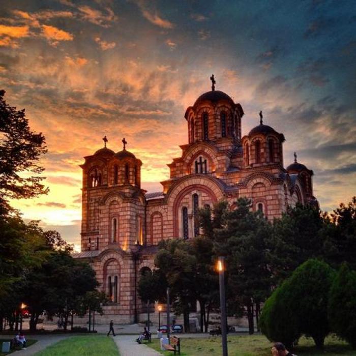 Crkva Svetog Marka, a tour attraction in Београд Србија