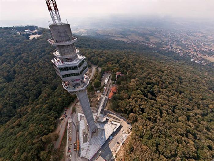 Avalski toranj, a tour attraction in Београд Србија