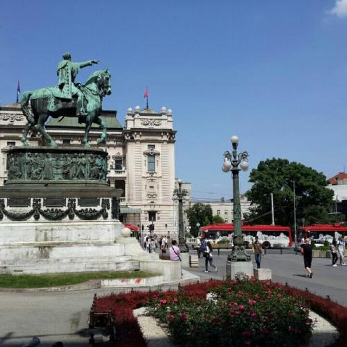 Trg Republike, a tour attraction in Београд Србија