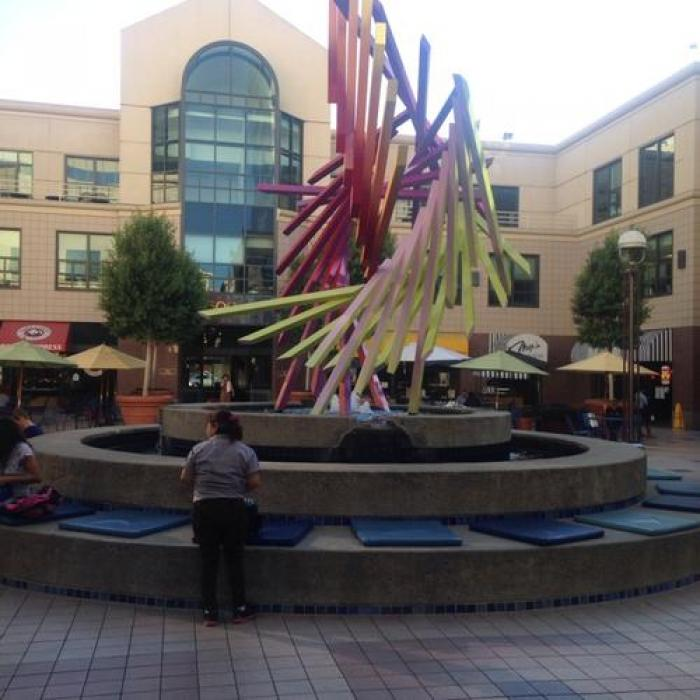 Oakland City Center Fountain, a tour attraction in Oakland United States