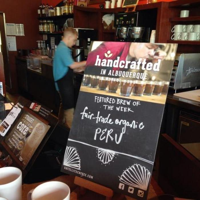 Satellite Coffee, a tour attraction in Albuquerque United States