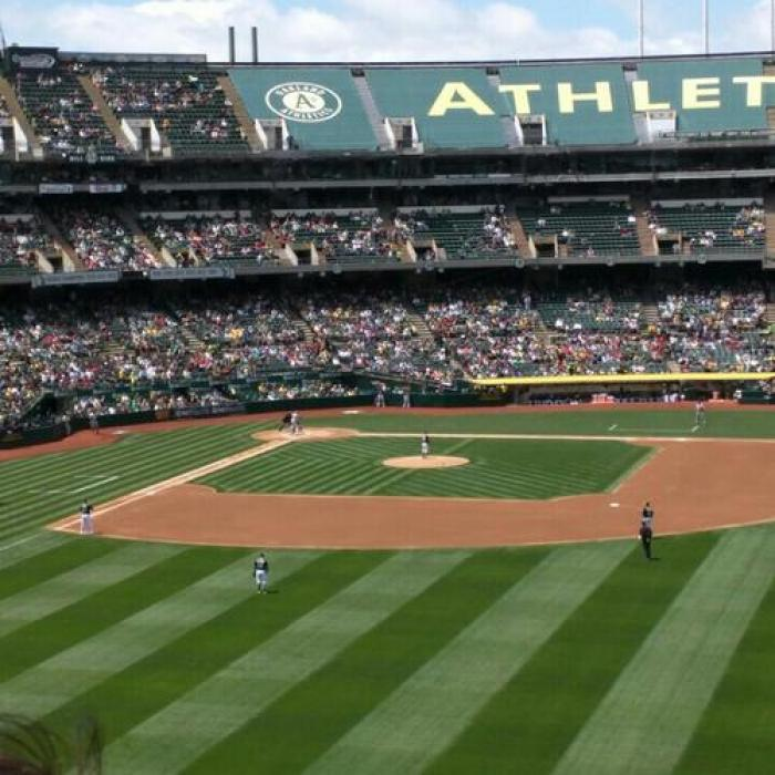 O.co Coliseum, a tour attraction in Oakland United States