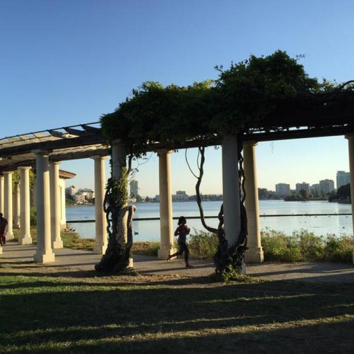 Lake Merritt, a tour attraction in Oakland United States