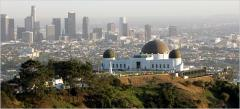 Griffith Observatory, a tour attraction in Los Angeles United States