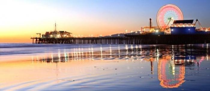 Santa Monica Pier, a tour attraction in Santa Monica United States