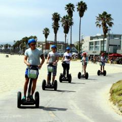 Segway LA, a tour attraction in Santa Monica United States