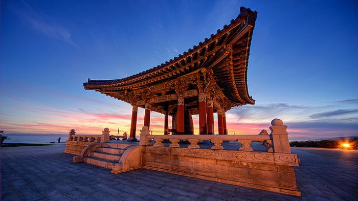 Korean Bell of Friendship, a tour attraction in San Pedro United States