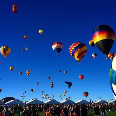 Balloon Fiesta Park, a tour attraction in Albuquerque United States